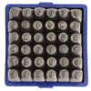 Metal Stamp 36pcs Basic 2mm Uppercase (A-z) (0-9) (&)